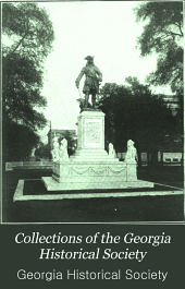 Collections of the Georgia Historical Society: Volume 7