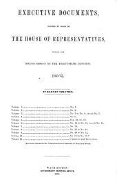 House Documents: Volume 110; Volume 144