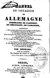 Manuel du voyageur en Allemagne: itinéraire de l'artiste, du négociant, de l'amateur ...
