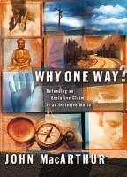 Why One Way  PDF