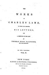The Works of Charles Lamb: Volume 2