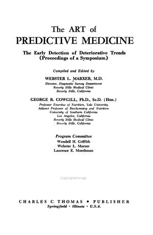 The Art of Predictive Medicine