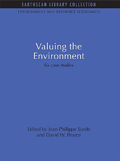 Valuing the Environment PDF