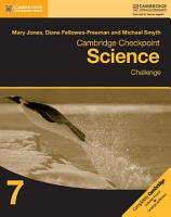 Cambridge Checkpoint Science Challenge Workbook 7 PDF
