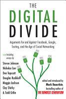 The Digital Divide PDF