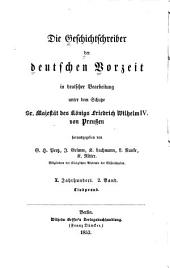 Aus Liuprands Werken: nach der Ausgabe der Monumenta Germaniae, Bände 2-3