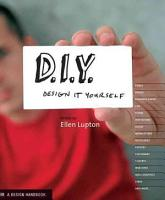 D I Y   Design It Yourself PDF