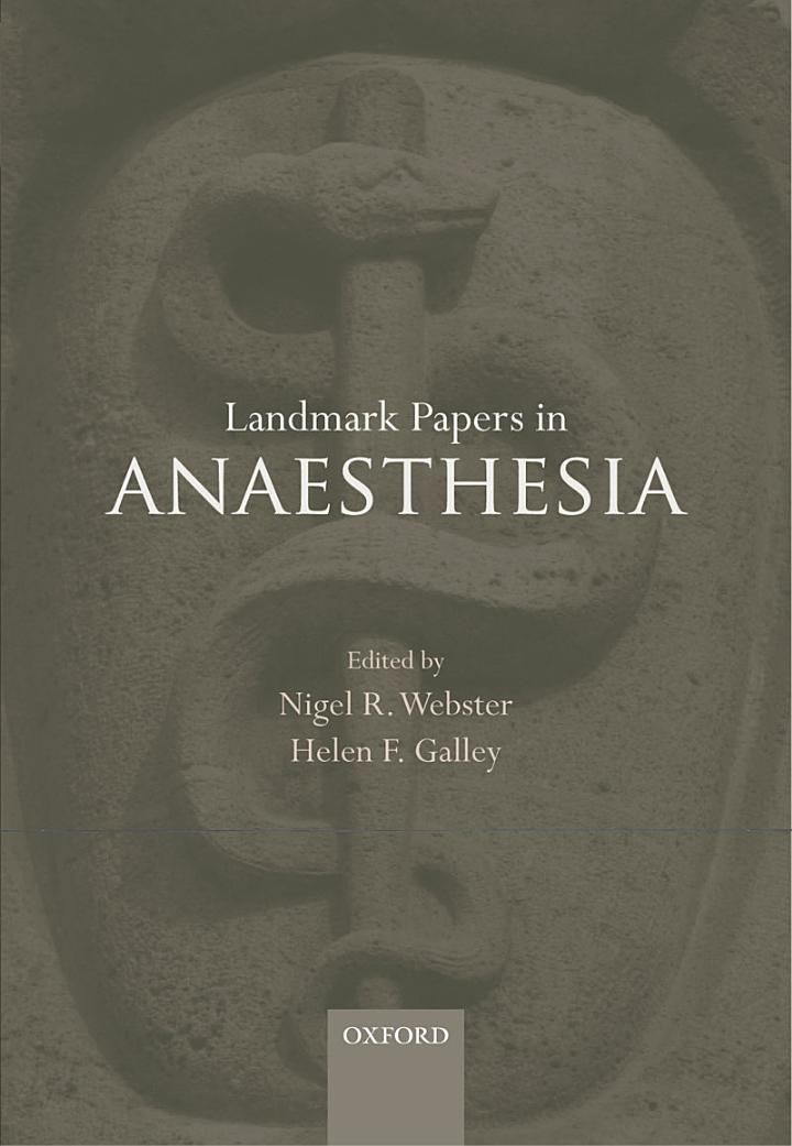 Landmark Papers in Anaesthesia