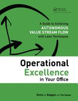 Operational Excellence in Your Office PDF