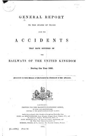 Railway Returns for England and Wales  Scotland  and Ireland     PDF