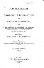 Masterpieces in English Literature, and Lessons in the English Language