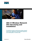 802 11 Wireless Network Site Surveying and Installation PDF
