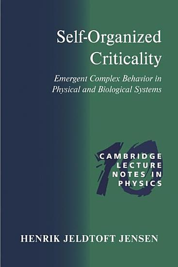 Self Organized Criticality PDF