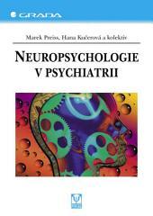Neuropsychologie v psychiatrii