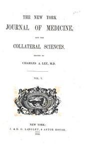 New York journal of medicine: Volume 5