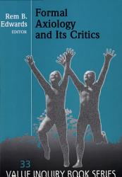 Formal Axiology And Its Critics Book PDF