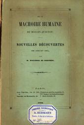 De la machoire humaine de Moulin-Quignon: nouvelles découvertes en 1863 et 1864