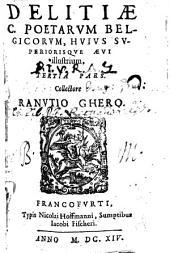 Dilitiae Poetarum Belgicorum, hujus superiorisque aevi illustrium: Volume 3