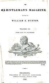 Burton's Gentleman's Magazine and American Monthly Review: Volume 3
