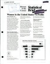 Women in the United States: a profile