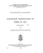 Illustrated Catalogue of Electrotype Reproductions of Works of Art