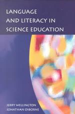 Language And Literacy In Science Education