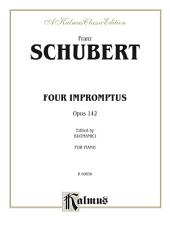 Four Impromptus, Opus 142: For Intermediate to Advanced Piano