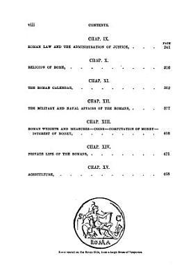 A manual of Roman antiquities PDF