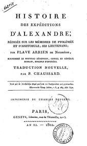 Histoire des Expeditions D' Alexandre