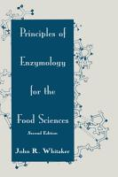 Principles of Enzymology for the Food Sciences PDF