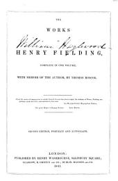 The Works of Henry Fielding: Complete in One Volume