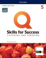 Q  Skills for Success 3E Listening and Speaking Level 5 PDF