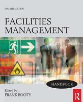 Facilities Management Handbook PDF