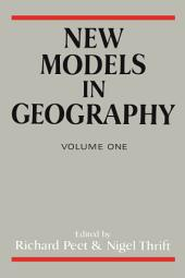 New Models In Geog: Volume 1