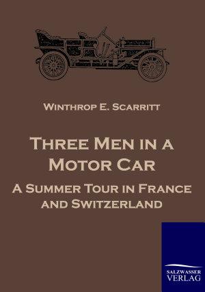 Three Men in a Motor Car