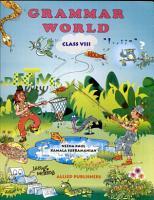 Grammar World Class  VIII PDF
