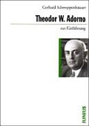 Theodor W  Adorno zur Einf  hrung PDF