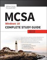 MCSA  Windows 10 Complete Study Guide PDF