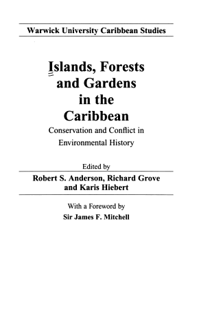 Islands  Forests and Gardens in the Caribbean PDF