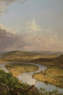 View from Mount Holyoke, Northampton, Massachusetts, After a Thunderstorm; The Oxbow