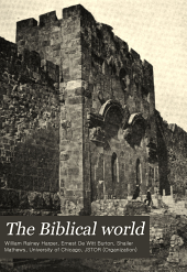 The Biblical World: Volume 30