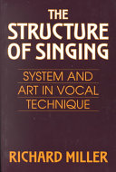 The Structure Of Singing Book PDF