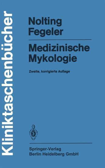 Medizinische Mykologie PDF