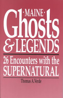 Maine Ghosts and Legends PDF