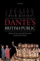 Dante s British Public PDF