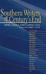 Southern Writers at Century's End