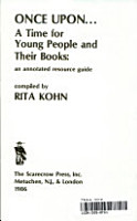 Once Upon   a Time for Young People and Their Books PDF