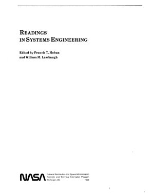 Readings in Systems Engineering PDF
