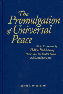 Download The Promulgation of Universal Peace Book