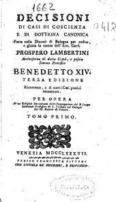 Decisioni di casi di coscienza e di dottrina canonica: Volume 3